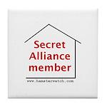 Secret Alliance Tile Coaster