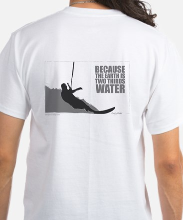 Two Thirds Water - White T-Shirt