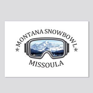 Montana Snowbowl - Miss Postcards (Package of 8)