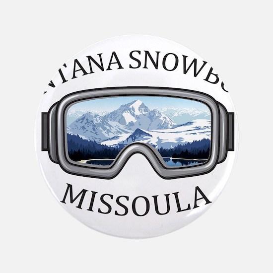 Montana Snowbowl - Missoula - Montana Button