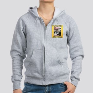 Washington D.C. Women's Zip Hoodie