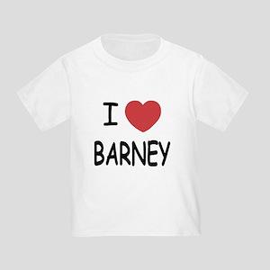 I heart Barney Toddler T-Shirt