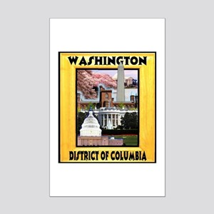 Washington D.C. Mini Poster Print