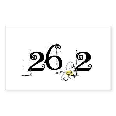 26.3 Daisey Design Sticker (Rectangle)