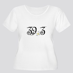 39.3 Daisey Design Women's Plus Size Scoop Neck T-