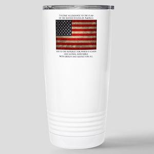 The Pledge Stainless Steel Travel Mug
