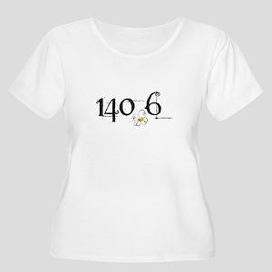 140.6 Daisey Design Women's Plus Size Scoop Neck T