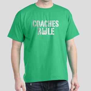 Coaches Rule Dark T-Shirt