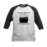 Muffin Top Kids Baseball Jersey