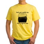 Muffin Top Yellow T-Shirt