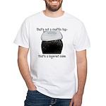 Muffin Top White T-Shirt
