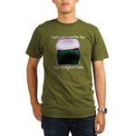 Muffin Top Organic Men's T-Shirt (dark)
