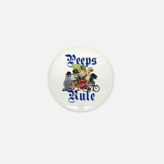 PEEPS RULE Mini Button