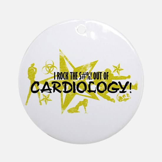 I ROCK THE S#%! - CARDIOLOGY Ornament (Round)