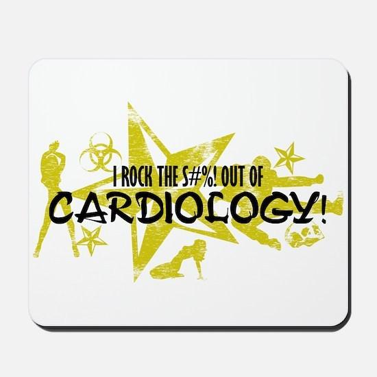 I ROCK THE S#%! - CARDIOLOGY Mousepad