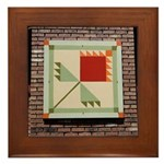 Lily of the Field Framed Tile