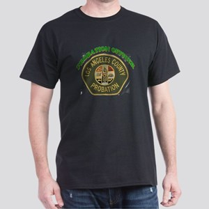 L.A. County Probation Officer Dark T-Shirt
