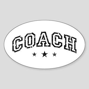 Coach Sticker (Oval)