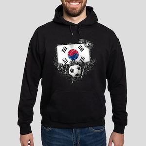 Soccer Fan South Korea Hoodie (dark)