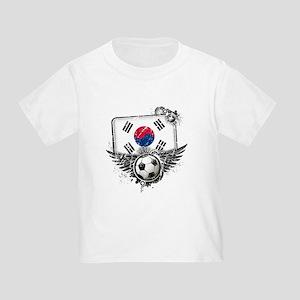 Soccer Fan South Korea Toddler T-Shirt