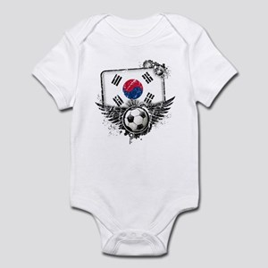 Soccer Fan South Korea Infant Bodysuit