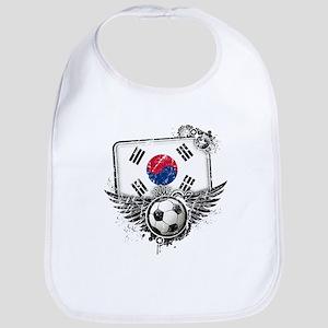 Soccer Fan South Korea Bib