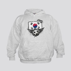 Soccer Fan South Korea Kids Hoodie