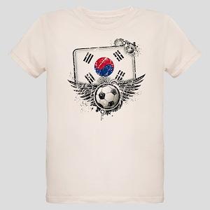 Soccer Fan South Korea Organic Kids T-Shirt