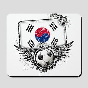 Soccer Fan South Korea Mousepad