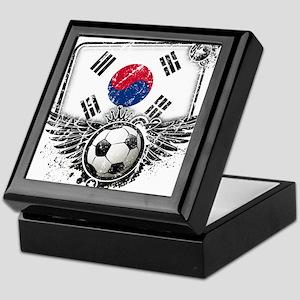 Soccer Fan South Korea Keepsake Box