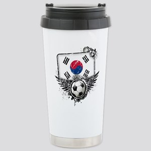 Soccer Fan South Korea Stainless Steel Travel Mug
