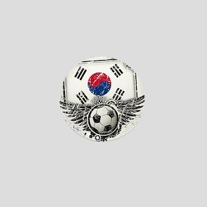Soccer Fan South Korea Mini Button