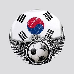 "Soccer Fan South Korea 3.5"" Button"