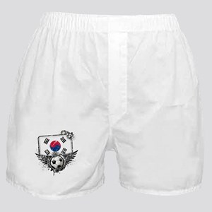 Soccer Fan South Korea Boxer Shorts