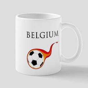 Belgium Soccer Mug