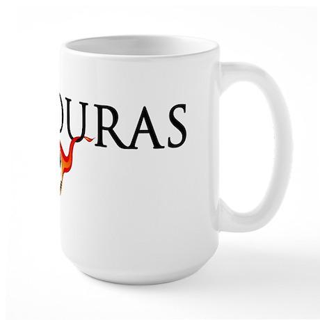 Honduras Soccer Large Mug