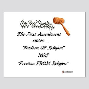 Freedom Of Religion Small Poster
