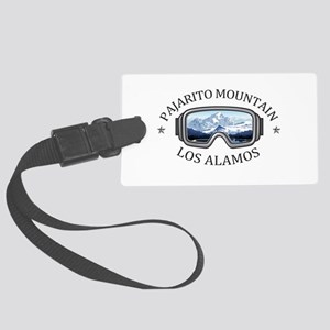 Pajarito Mountain - Los Alamos Large Luggage Tag