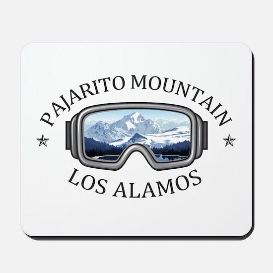 Pajarito Mountain - Los Alamos - New M Mousepad
