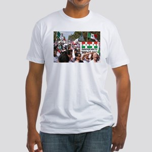 HERE THEY COME! - Fitted T-Shirt