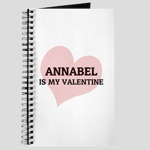 Annabel Is My Valentine Journal