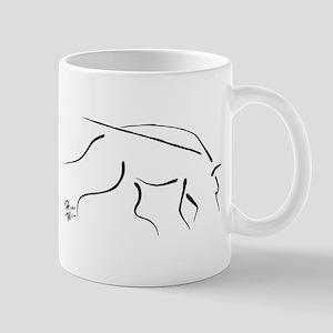 Tracking Dog - black Mug