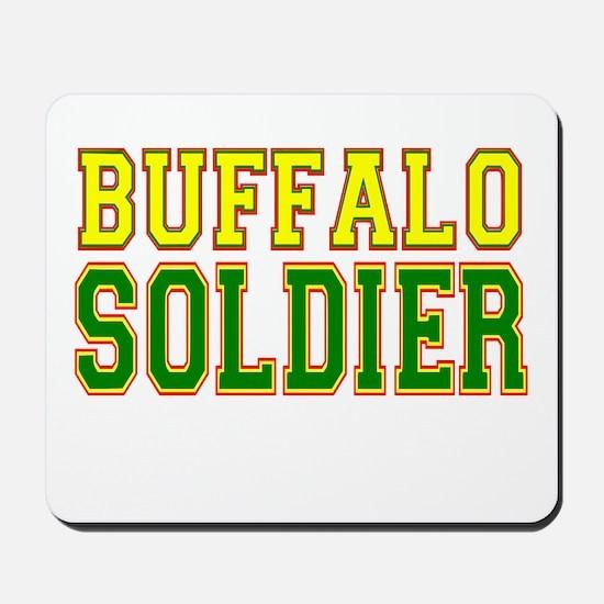 Buffalo Soldier Mousepad