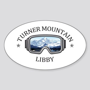 Turner Mountain - Libby - Montana Sticker