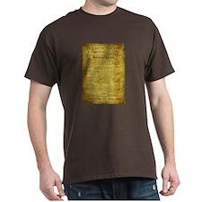 Twilight Cullen Treaty Dark T-Shirt