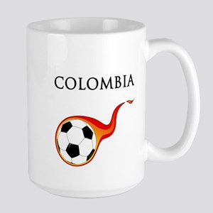 Colombia Soccer Large Mug