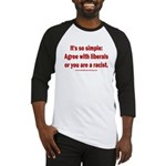 Trump is Great! Dems are Hate! Baseball Tee