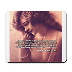 Sexuality, Beauty Nietzsche Mousepad