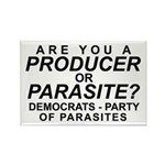 Producer or Parasite Rectangle Magnet (10 pack)