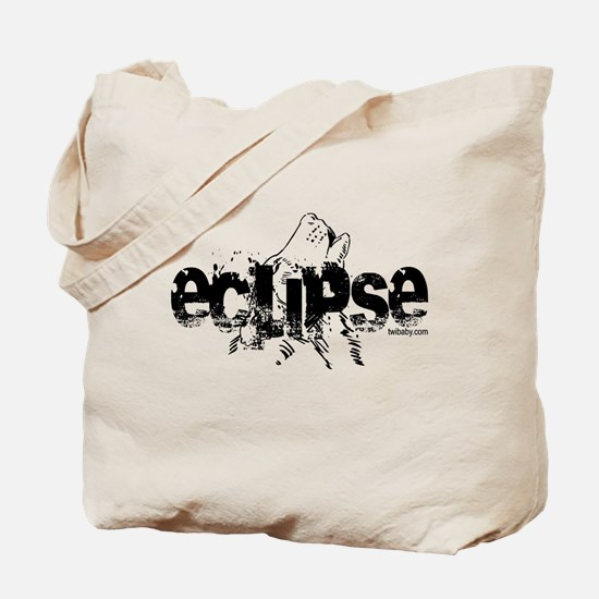 Eclipse Howling Wolf by Twibaby Tote Bag